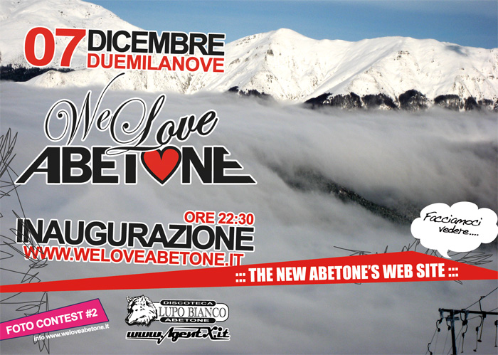 inaugurazione We Love Abetone