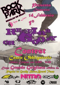 regular or goofy contest abetone val di luce