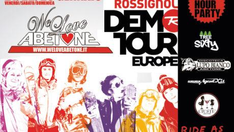 abetone rossignol demo tour
