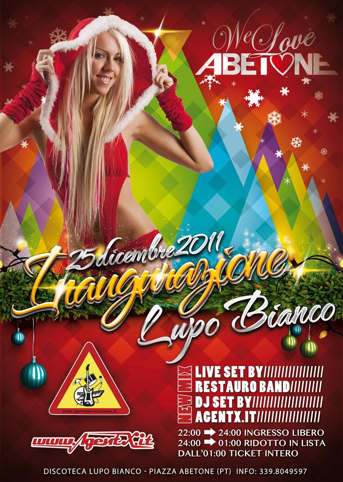 lupo bianco discoteca we love abetone 2012