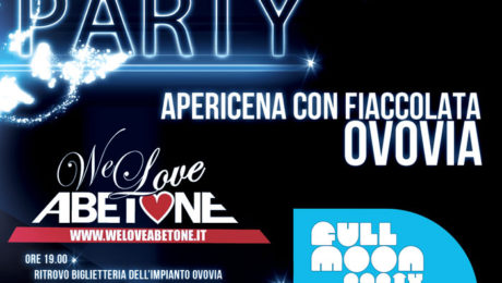 full moon party we love abetone 2012