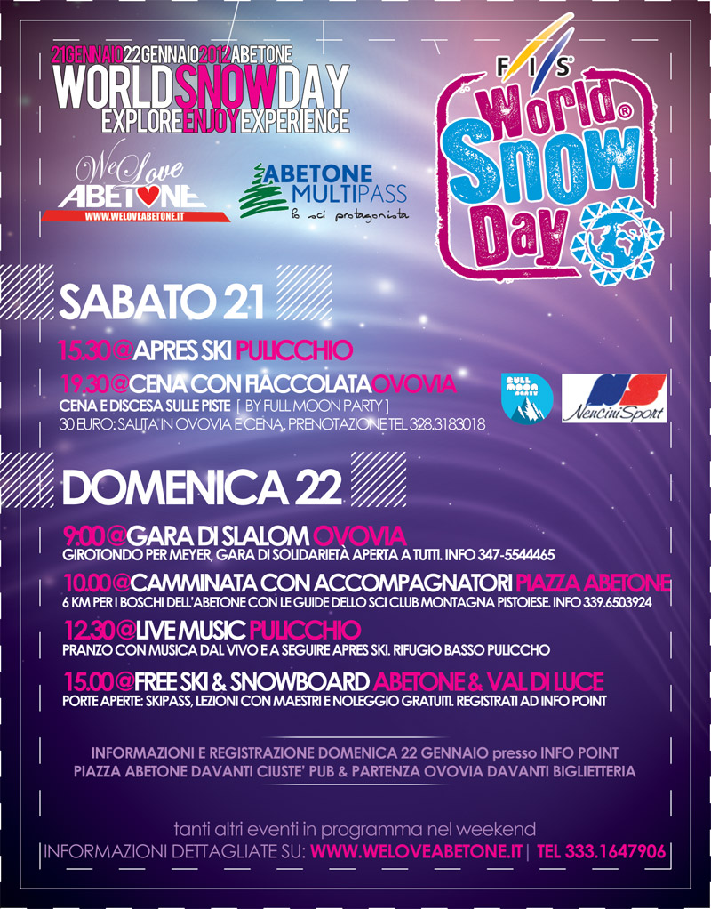 World Snow Day Abetone 2012