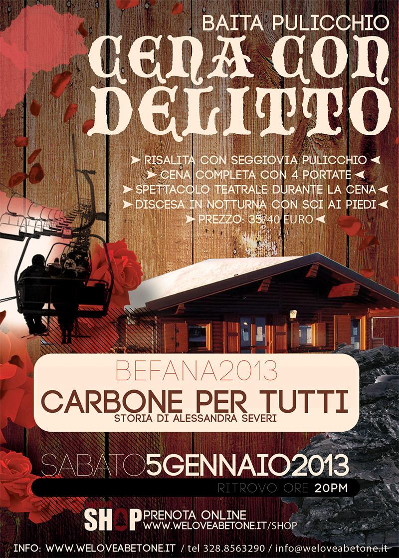 Cena con Delitto, baita Pulicchio