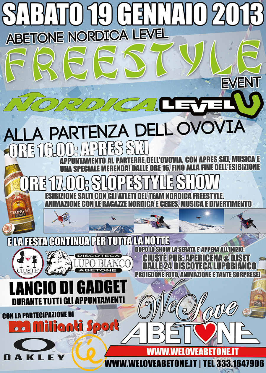 Nordica e level freestyle event