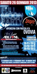 Full Moon Party Abetone 2013: Apericena all'ovovia con fiaccolata