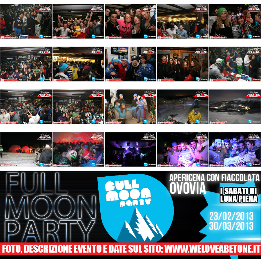 Full Moon Party abetone