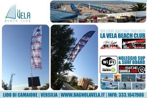 Estate in Versilia: LaVela BeachClub a Lido di Camaiore