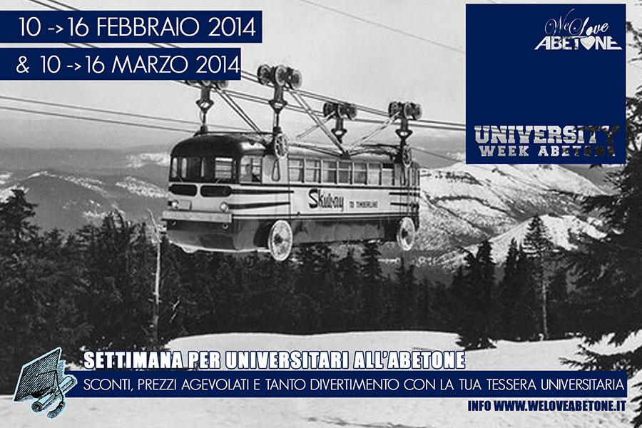 university abetone abetone stagione 2014