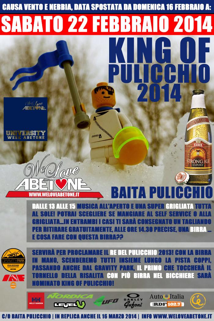 eventi abetone stagione 2014 king of pulicchio