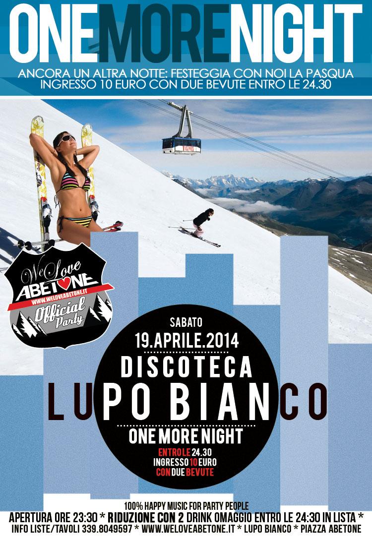 lupo bianco discoteca we love abetone 2013