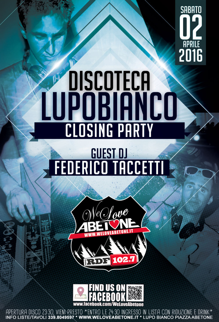 Discoteca LupoBianco - The Closing Party