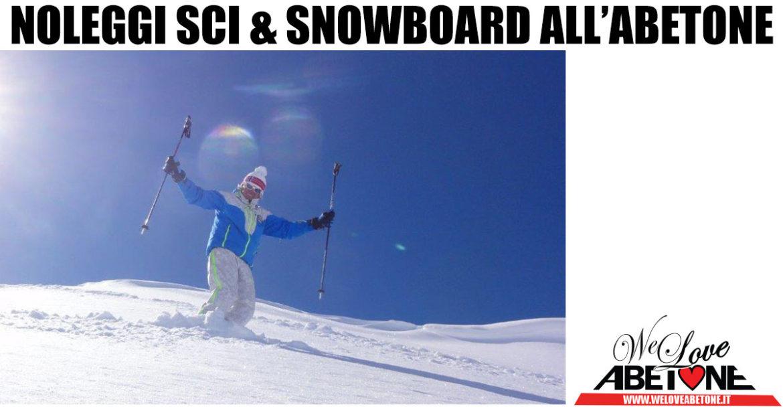 noleggi sci snowboard abetone