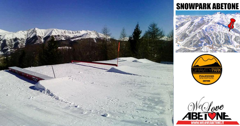 snowpark abetone gravity pulicchio
