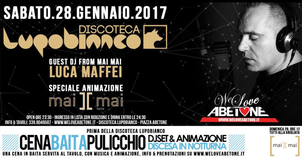 Discoteca LupoBianco - Dopo la cena in baita si continua a festeggiare in Disco