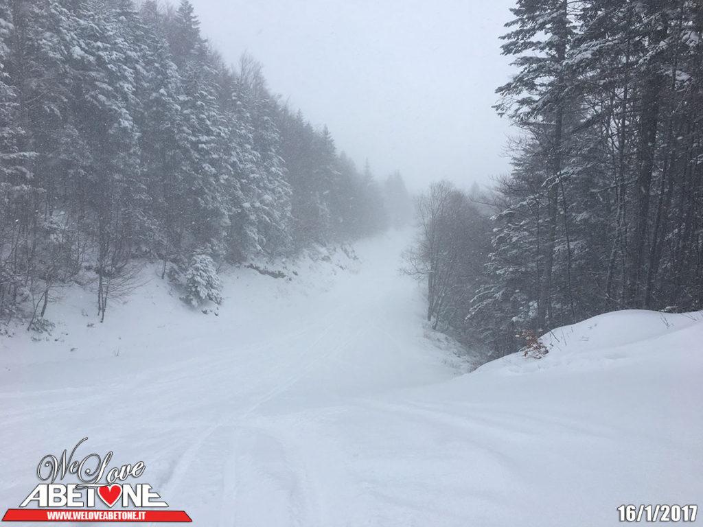 abetone neve gennaio 2017