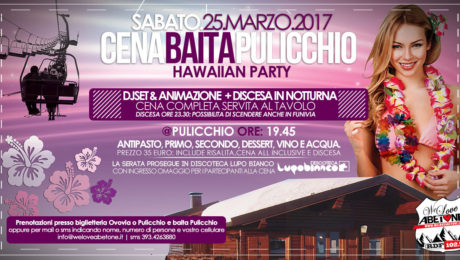 cena baita pulicchio abetone 25 marzo 2017