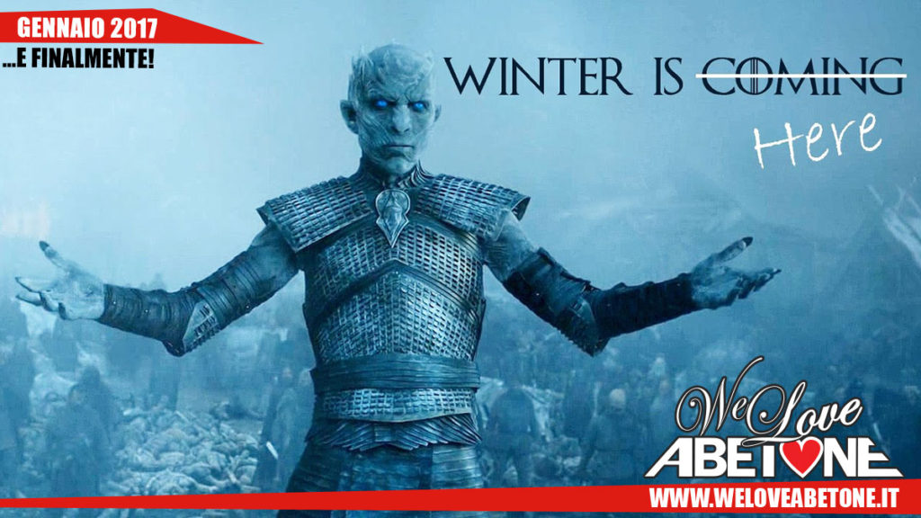 abetone winter is here
