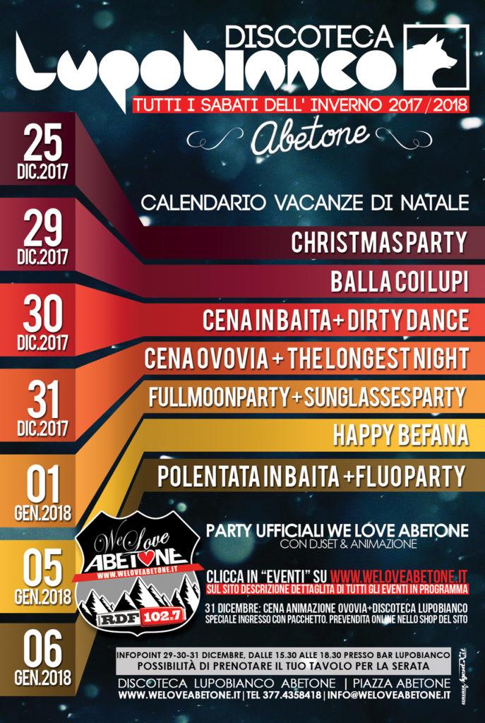 discoteca abetone 2018