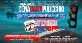 Start me Up: Extra Cena Baita Pulicchio per festeggiare l'apertura stagione! Venerdì 8 Dicembre 2017