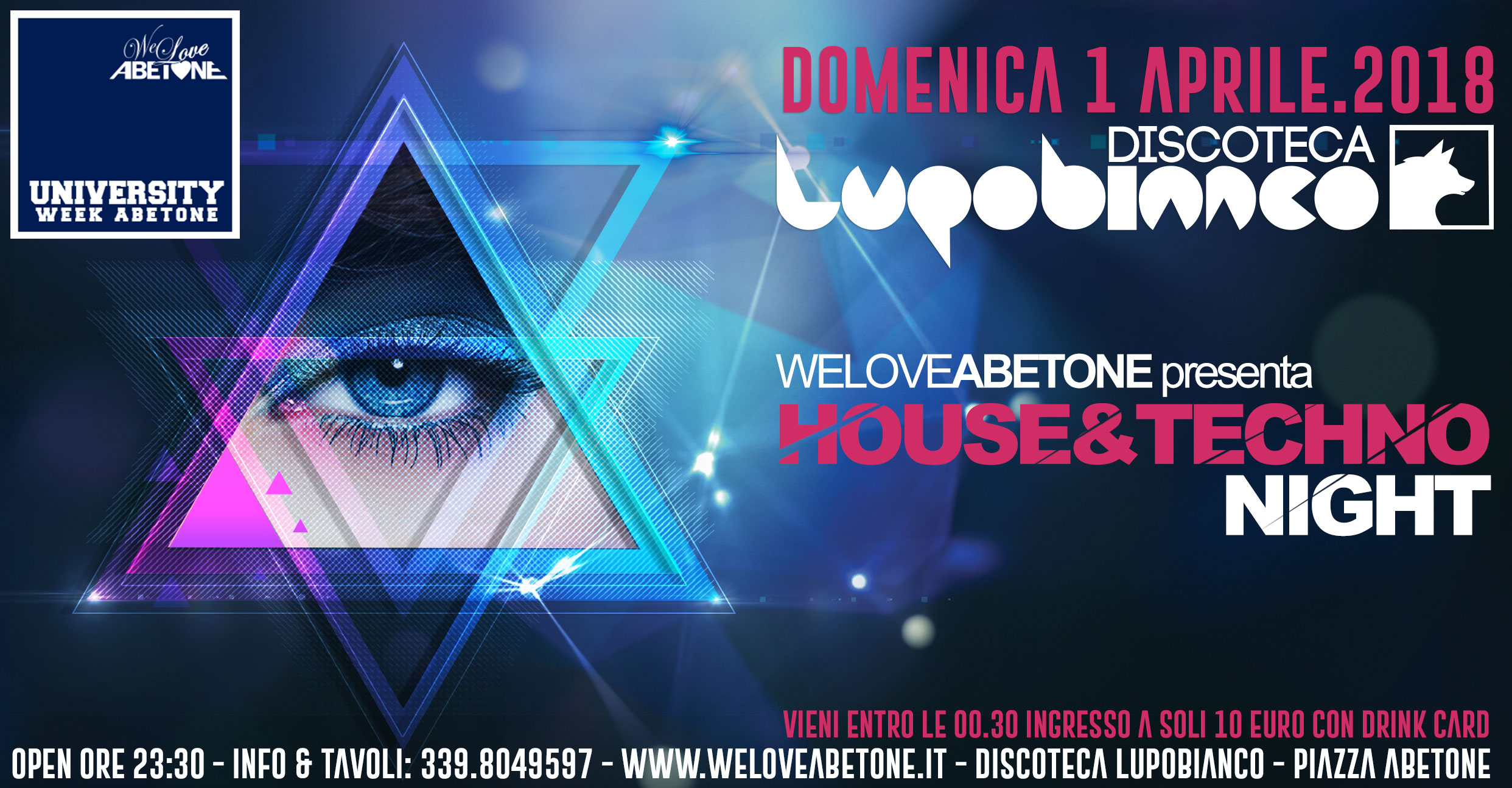discoteca abetone venerdì house techno party univesitari