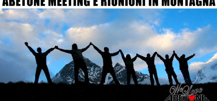 abetone meeting riunioni montagna