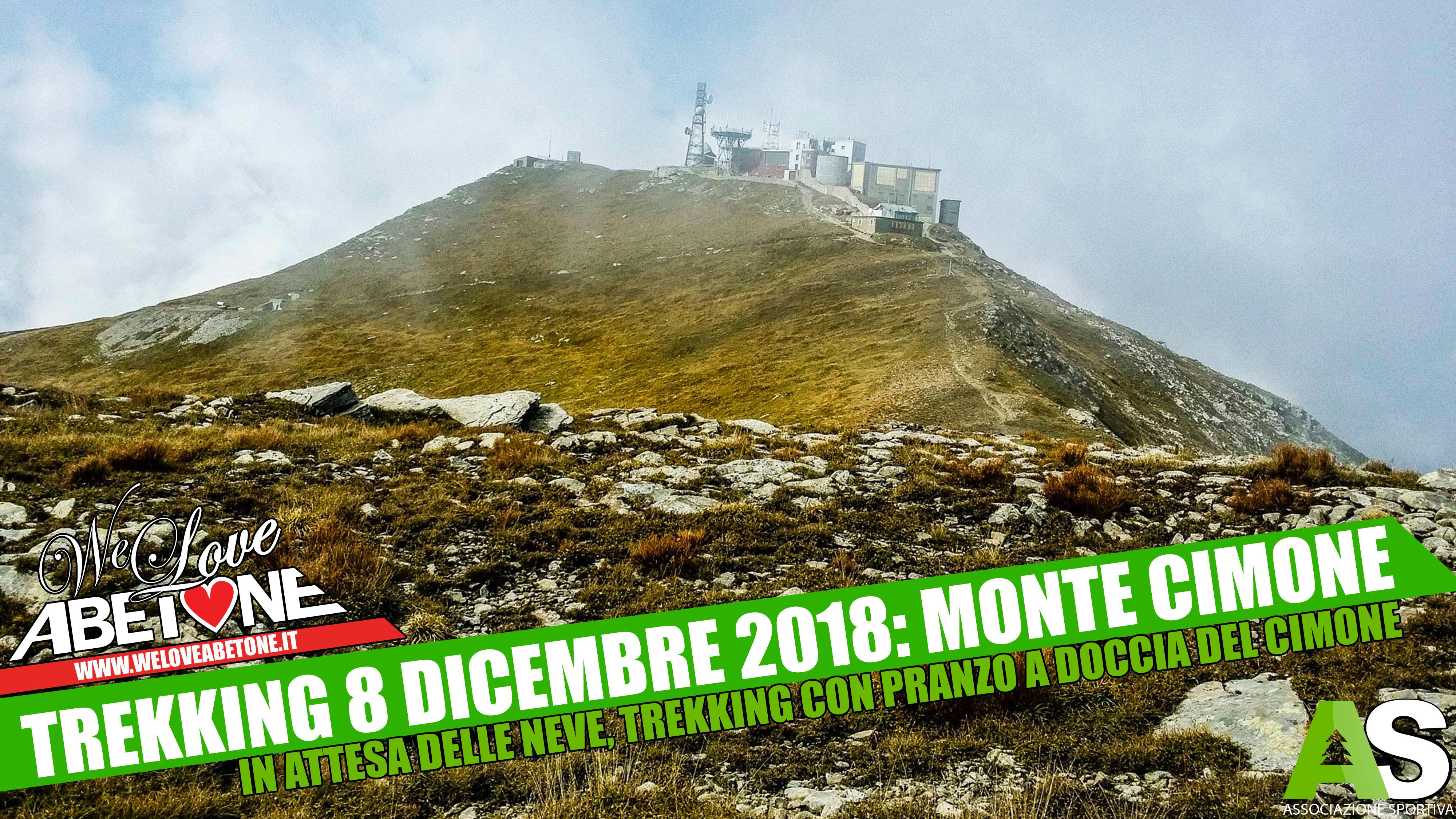 trekking abetone 2018 ponte immacolata