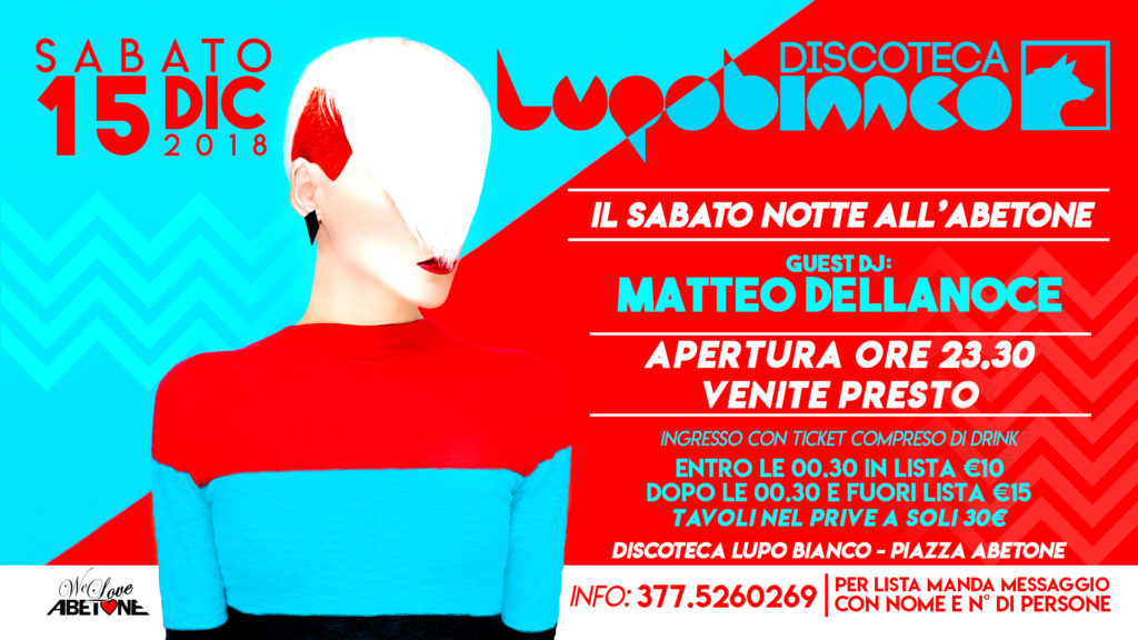 Discoteca LupoBianco: Il Sabato notte all'Abetone