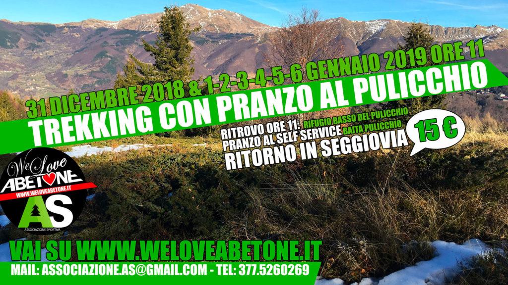 Trekking con Pranzo in Baita Pulicchio e discesa in Seggiovia: Tutti i giorni delle vacanze