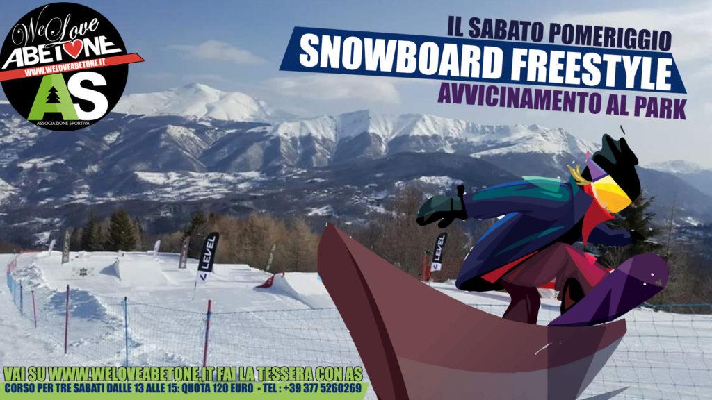 corsi snowboard abetone 2019 club