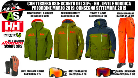 Helly Hansen abetone level nordica