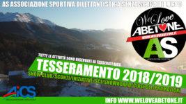 Associazione Sportiva con We Love Abetone, la tessera con il nostro Sci e Snowboard Club