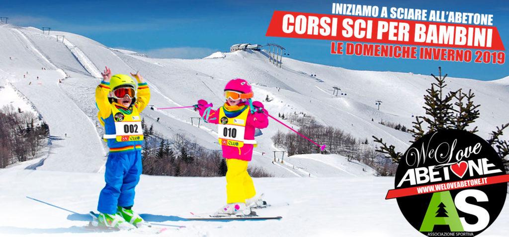 Corsi di Sci per Bambini: Le Domeniche dal 27 Gennaio al 31 Marzo 2019 ad Abetone