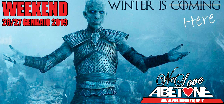 winter is here abetone