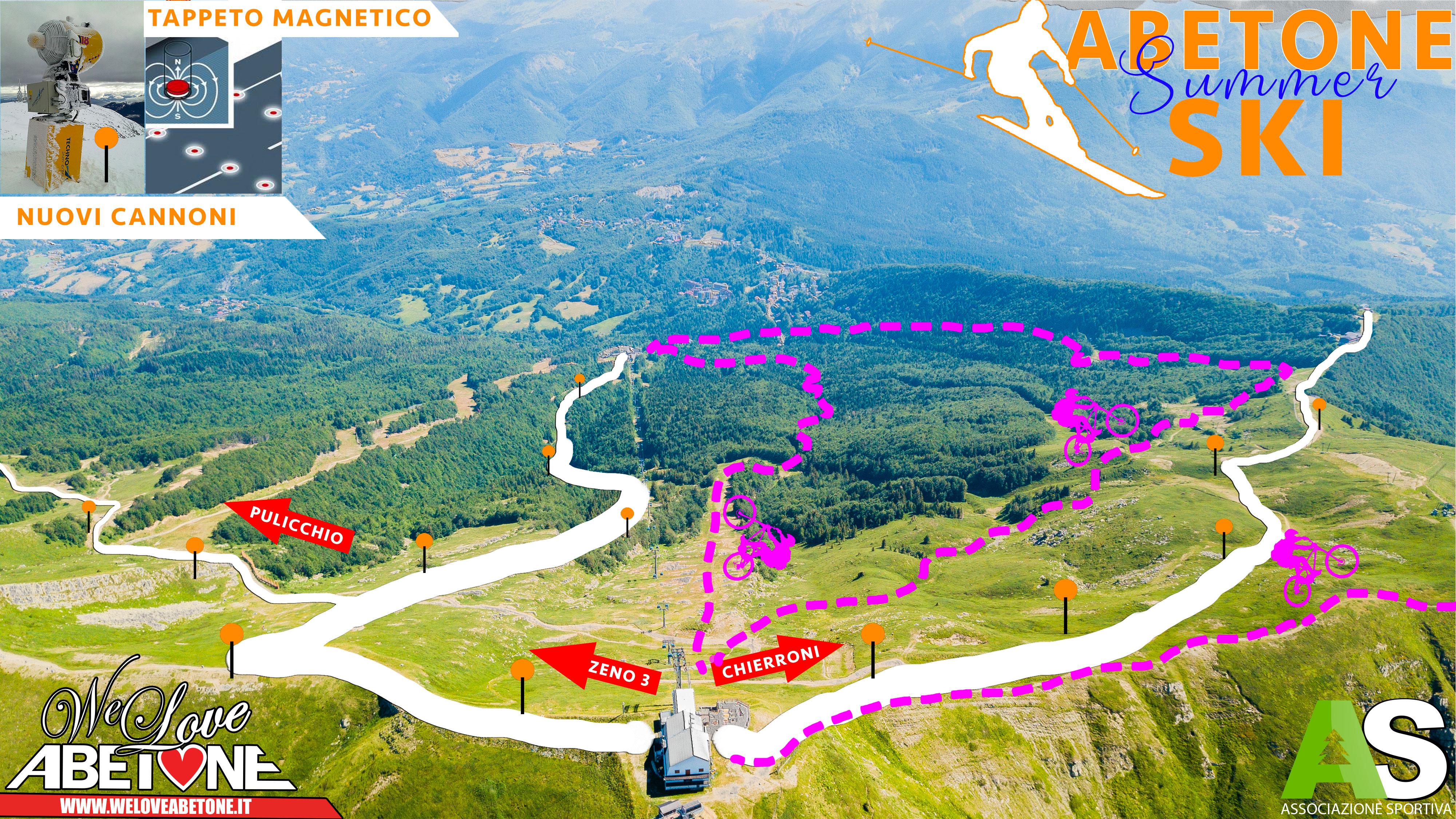abetone summer ski 2019