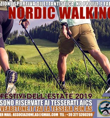 Nordic Walking abetone Cutigliano passeggiate