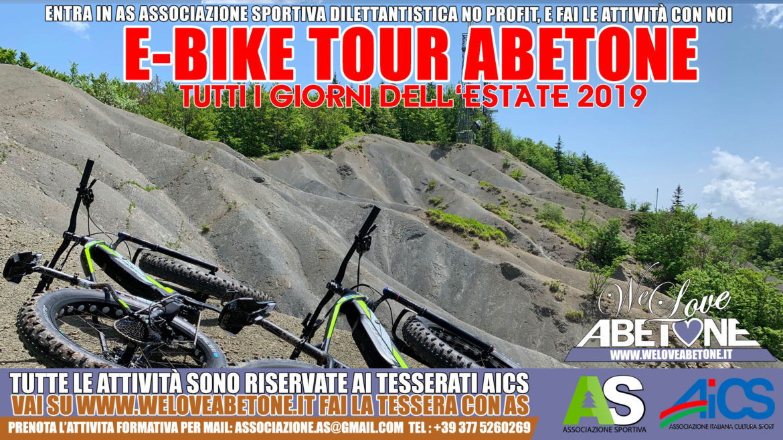 Ebike emtb Abetone e Cutigliano,le bici elettriche a pedalata assistita in appennino