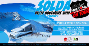Solda, 14/17 Novembre 2019: We Love Abetone on Tour, Episodio 1