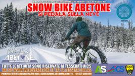SnowBike Abetone: Le Mtb Elettriche a ruota larga per tour sulla neve nel nostro Appennino