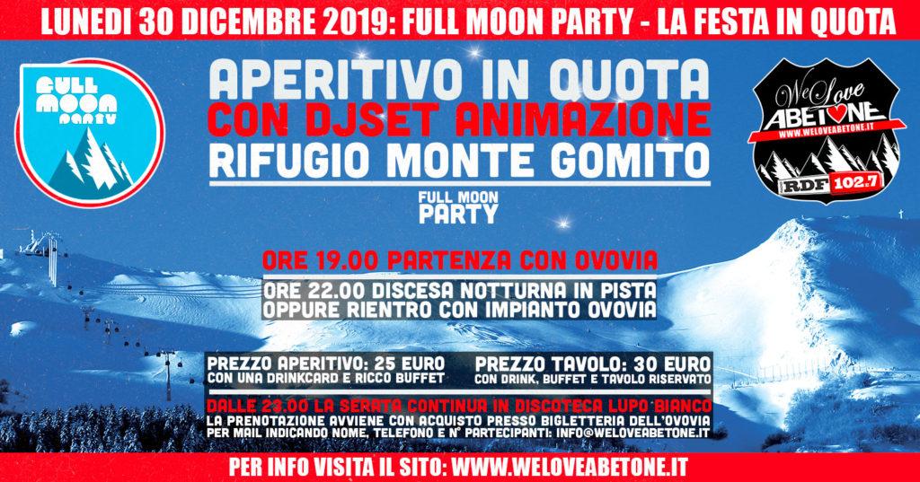 Aperitivo in Quota Ovovia - Lunedì 30 Dicembre 2019 - Il Party più in alto delle vacanze di Natale