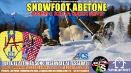 Snowfoot Abetone: Cammina, corri e salta sulla neve! Le ciaspole evolute solo con We Love Abetone