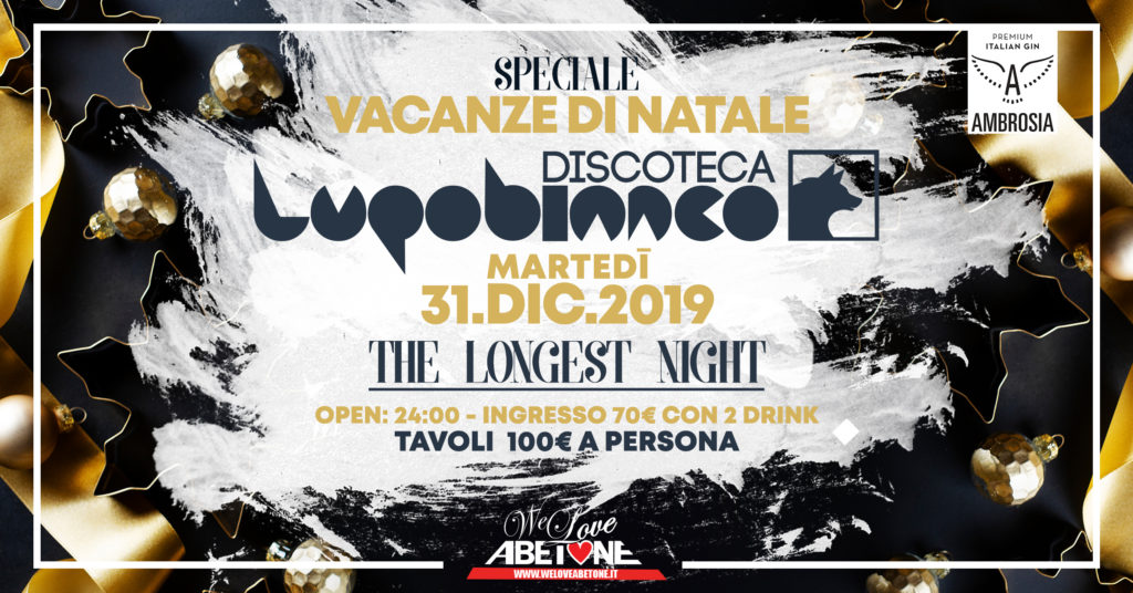 Capodanno 2020 Discoteca LupoBianco Abetone
