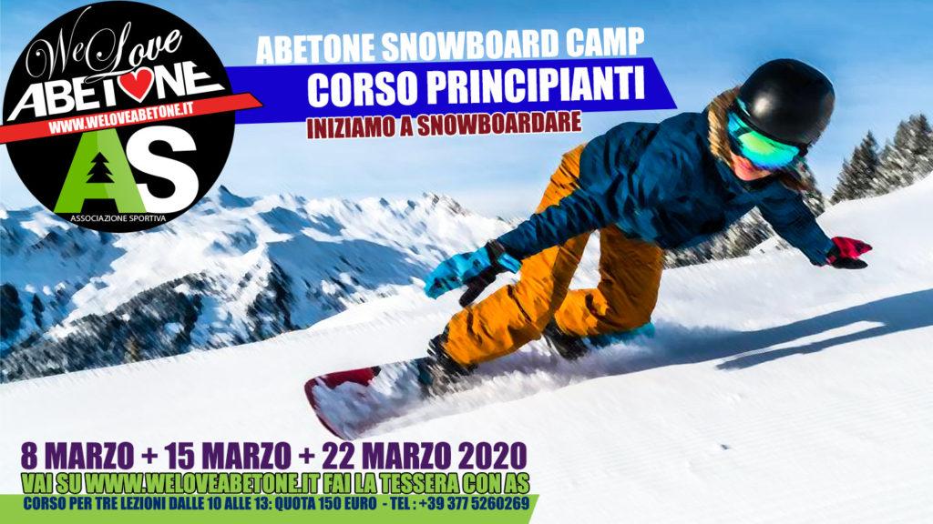 corso snowboard abetone principianti