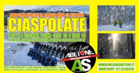 Ciaspole e Ciaspolate Abetone: Tutti i giorni, vieni ora che siamo gialli