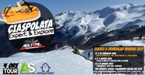 Ciaspolate Expert & Explore con SnowFoot: Sabato & Domenica inverno 2021 ad Abetone